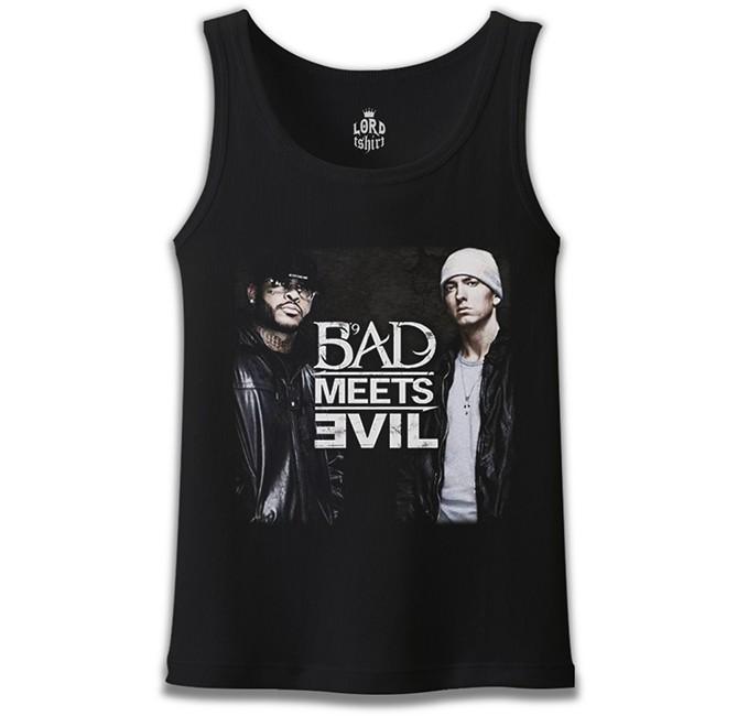 Lord Tshirt - Bad Meets Evil Siyah Erkek Atlet