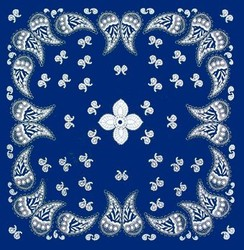 Bandana 4 - Mavi - Thumbnail
