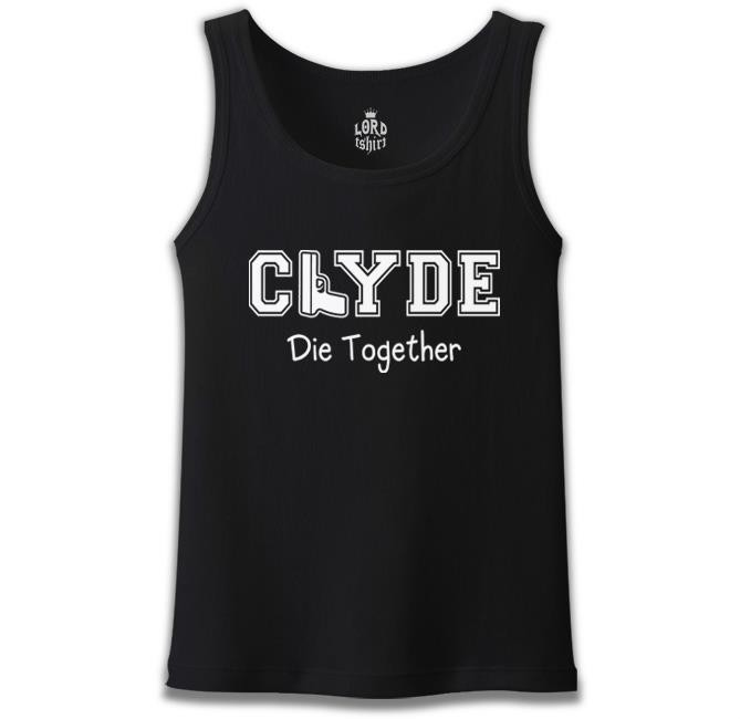 Lord Tshirt - Bonnie and Clyde - Clyde Siyah Erkek Atlet