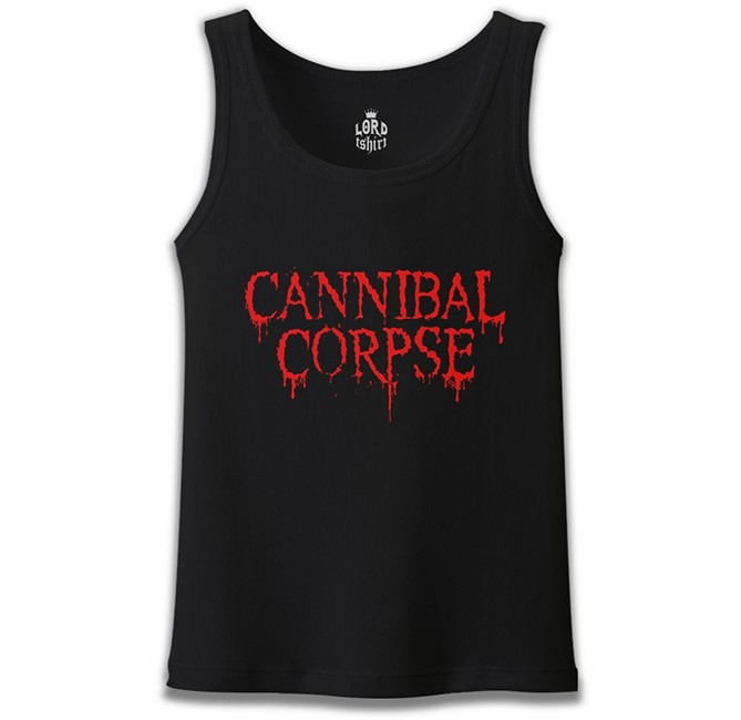 Lord Tshirt - Cannibal Corpse Siyah Erkek Atlet