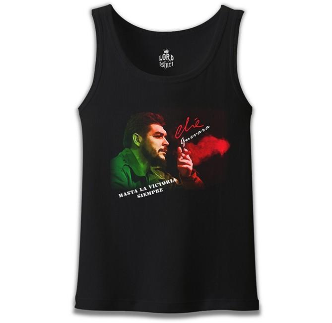 Lord Tshirt - Che Guevara - Green Red Siyah Erkek Atlet