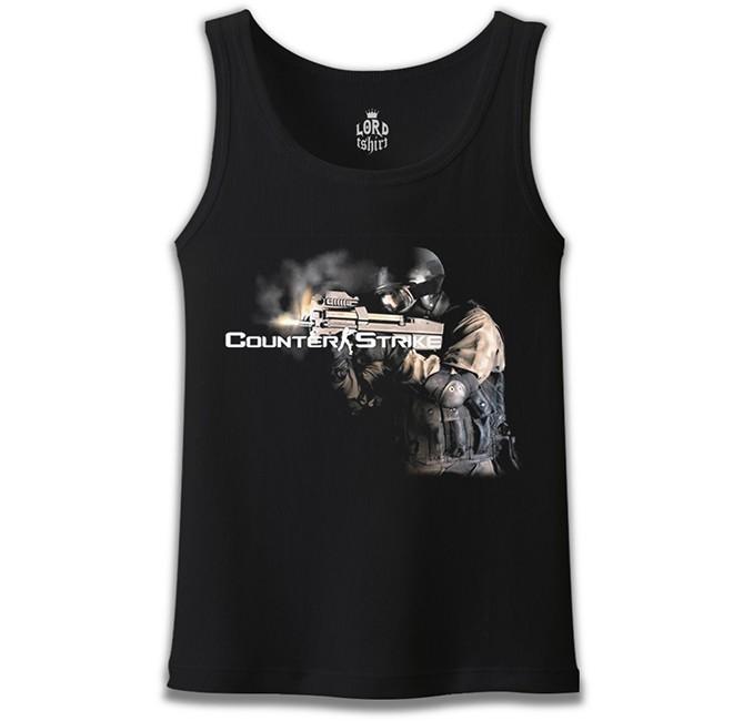 Lord Tshirt - Counter Strike 2 Siyah Erkek Atlet