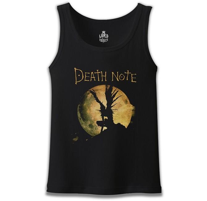 Lord Tshirt - Death Note - Moon Siyah Erkek Atlet