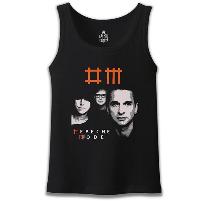 Lord Tshirt - Depeche Mode Siyah Erkek Atlet