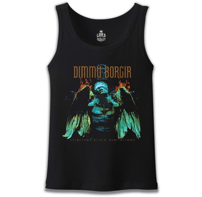 Lord Tshirt - Dimmu Borgır - Dimensions Siyah Erkek Atlet
