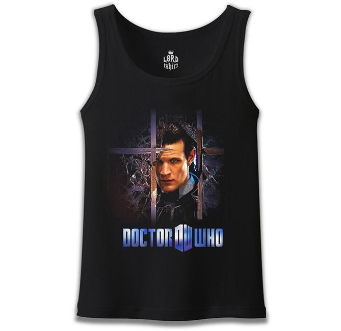 Lord Tshirt - Doctor Who Siyah Erkek Atlet