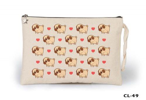 Dogs - Love Ham Bez Clutch / El Çantası Astarlı