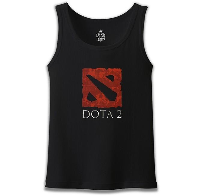 Lord Tshirt - Dota 2 - Logo2 Siyah Erkek Atlet