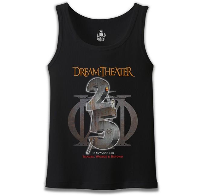 Lord Tshirt - Dream Theater - In Concert 2017 Siyah Erkek Atlet