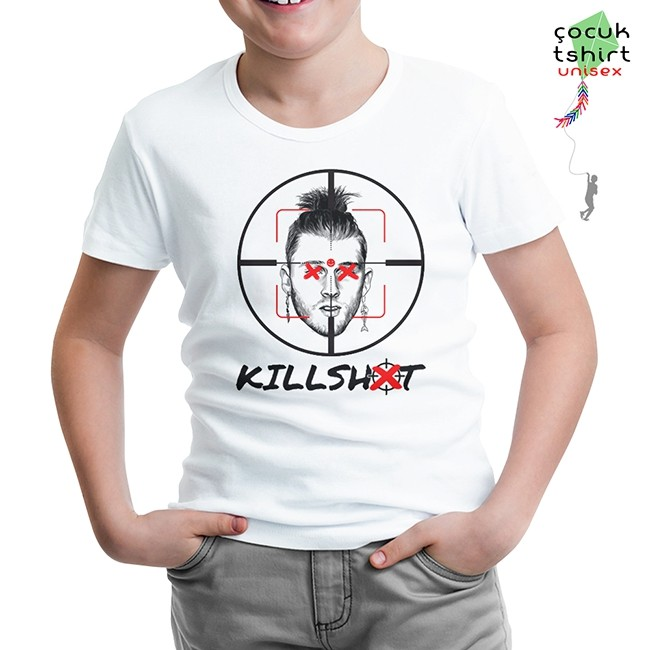 Lord Tshirt - Eminem - Killshot Beyaz Çocuk Tshirt