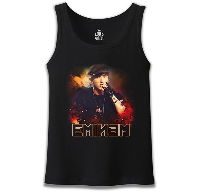 Lord Tshirt - Eminem Siyah Erkek Atlet