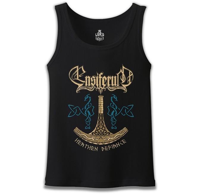 Lord Tshirt - Ensiferum - Heathen Horde Siyah Erkek Atlet