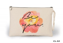 Lord Tshirt - Flower - Be You Ham Bez Clutch / El Çantası Astarlı