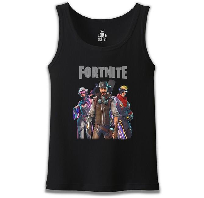 Lord Tshirt - Fortnite - Weapons Siyah Erkek Atlet