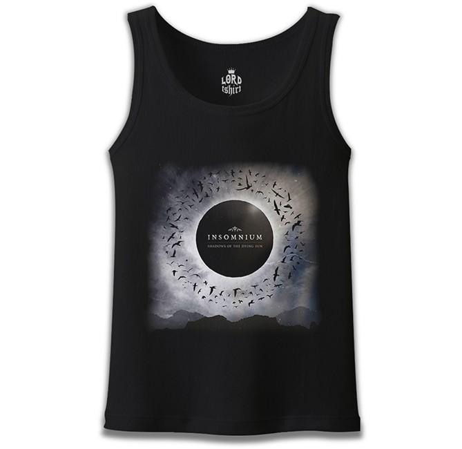 Lord Tshirt - Insomnium - Shadows of The Dying Sun Siyah Erkek Atlet