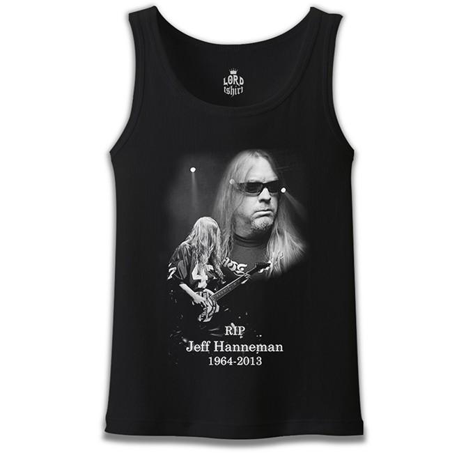 Lord Tshirt - Jeff Hanneman - RIP Siyah Erkek Atlet