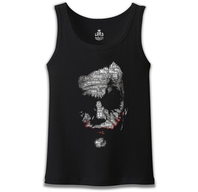 Lord Tshirt - Joker - So Evil Siyah Erkek Atlet