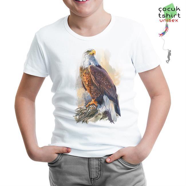 Lord Tshirt - Kartal - Landing Beyaz Çocuk Tshirt