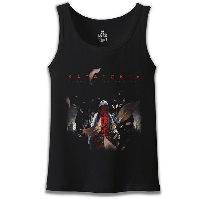 Lord Tshirt - Katatonia - The Night is the New Day Siyah Erkek Atlet