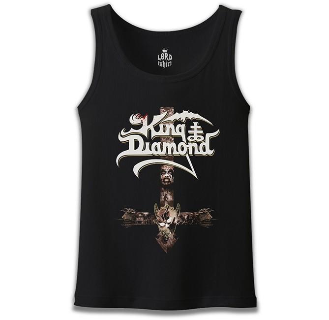 Lord Tshirt - King Diamond II Siyah Erkek Atlet