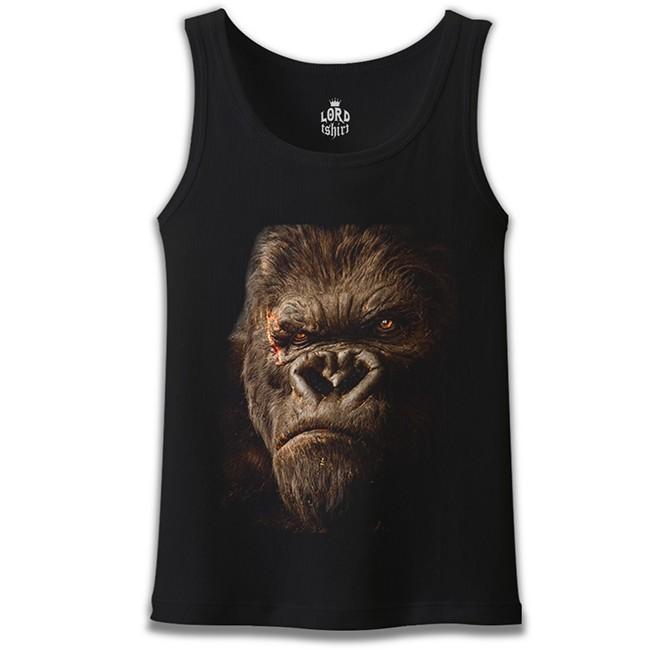 Lord Tshirt - King Kong Siyah Erkek Atlet