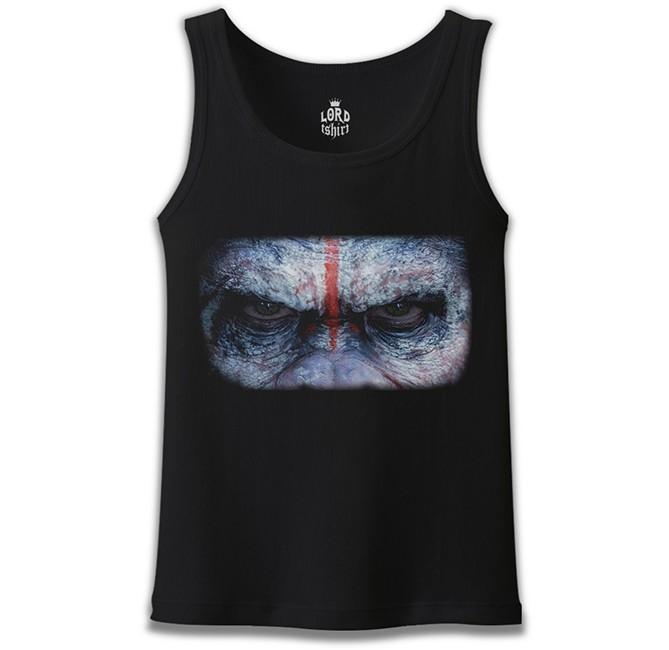 Lord Tshirt - Maymunlar Gezegeni Siyah Erkek Atlet
