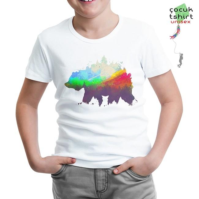 Lord Tshirt - Natür Vald Beyaz Çocuk Tshirt