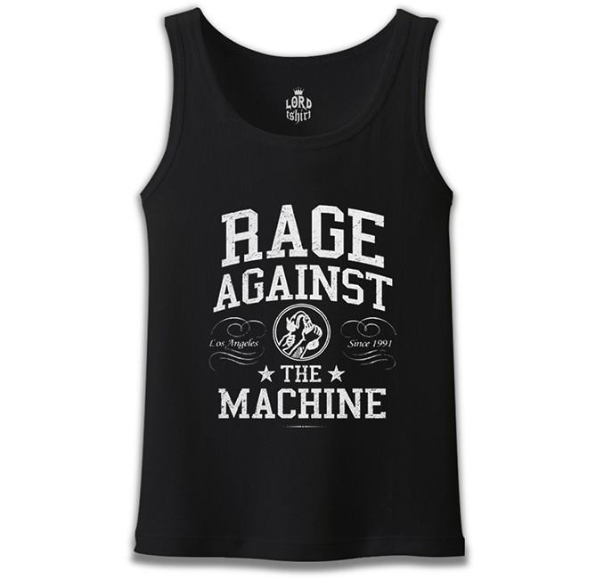 Lord Tshirt - Rage Against the Machine Siyah Erkek Atlet