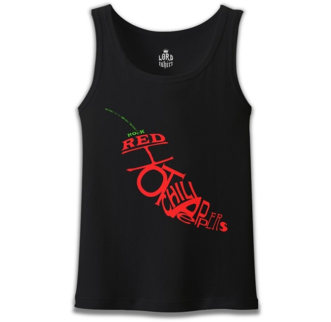 Lord Tshirt - Red Hot Chili Peppers - The Pepper Siyah Erkek Atlet