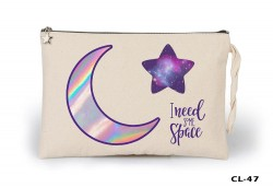 Lord Tshirt - Space - Some of Ham Bez Clutch / El Çantası Astarlı