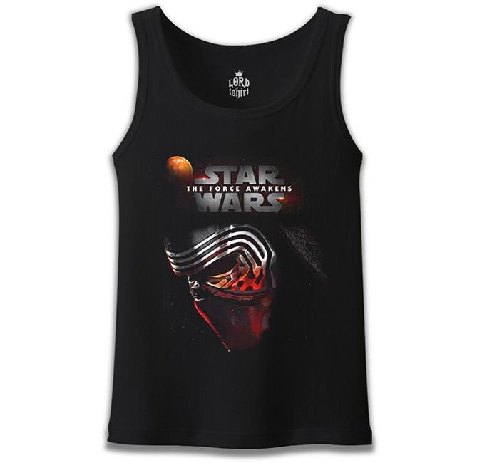 Lord Tshirt - Star Wars - The Force Awakens 8 Siyah Erkek Atlet
