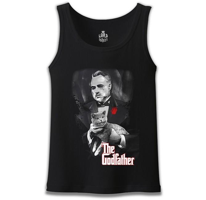 Lord Tshirt - The Godfather Siyah Erkek Atlet