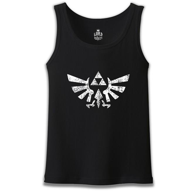 Lord Tshirt - The Legend of Zelda Siyah Erkek Atlet