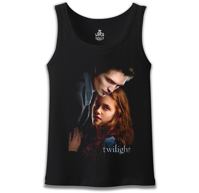 Lord Tshirt - Twilight Siyah Erkek Atlet