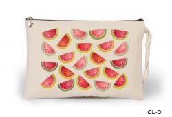 Lord Tshirt - Watermelons - Piece Ham Bez Clutch / El Çantası Astarlı
