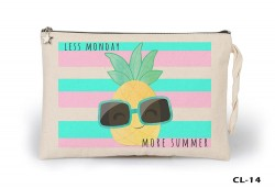 Lord Tshirt - Week - Less Monday Ham Bez Clutch / El Çantası Astarlı