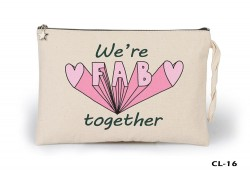 Lord Tshirt - We're Fab Ham Bez Clutch / El Çantası Astarlı