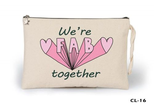 We're Fab Ham Bez Clutch / El Çantası Astarlı