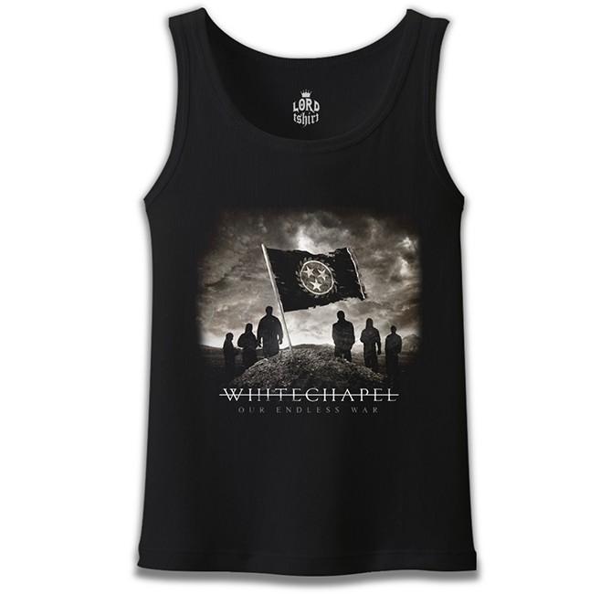 Lord Tshirt - Whitechapel - Our Endless War Siyah Erkek Atlet