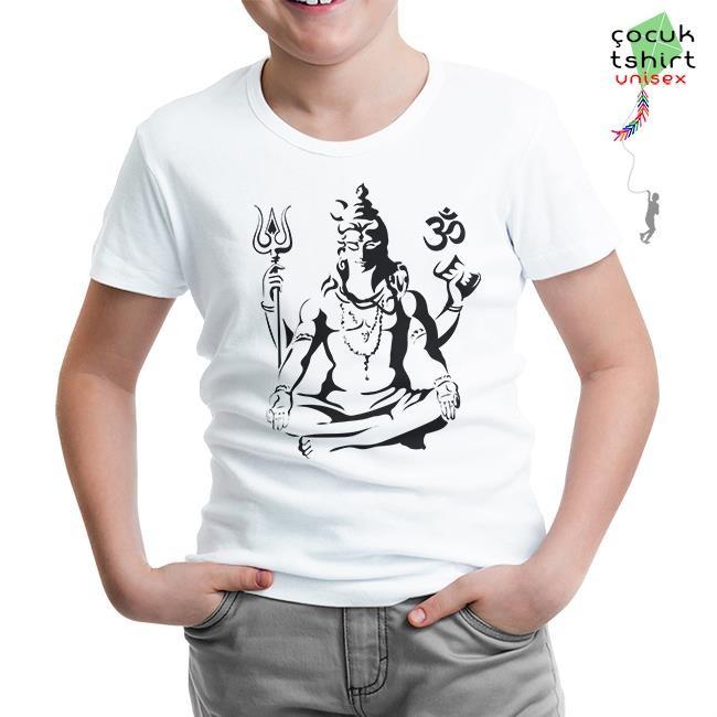 Lord Tshirt - Yoga - Çakra Beyaz Çocuk Tshirt